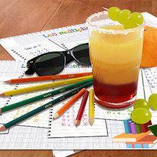 Cóctel de lápices de colores
