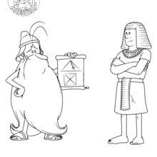 Dibujo para colorear : Egipto y Faraones