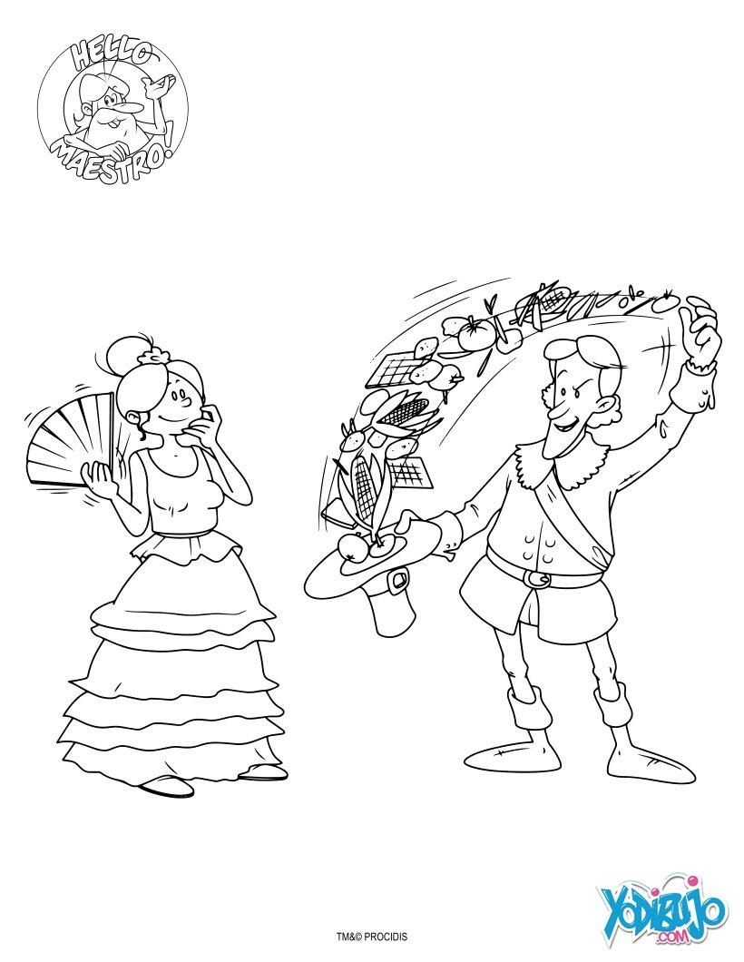 Dibujos para colorear españa   es.hellokids.com