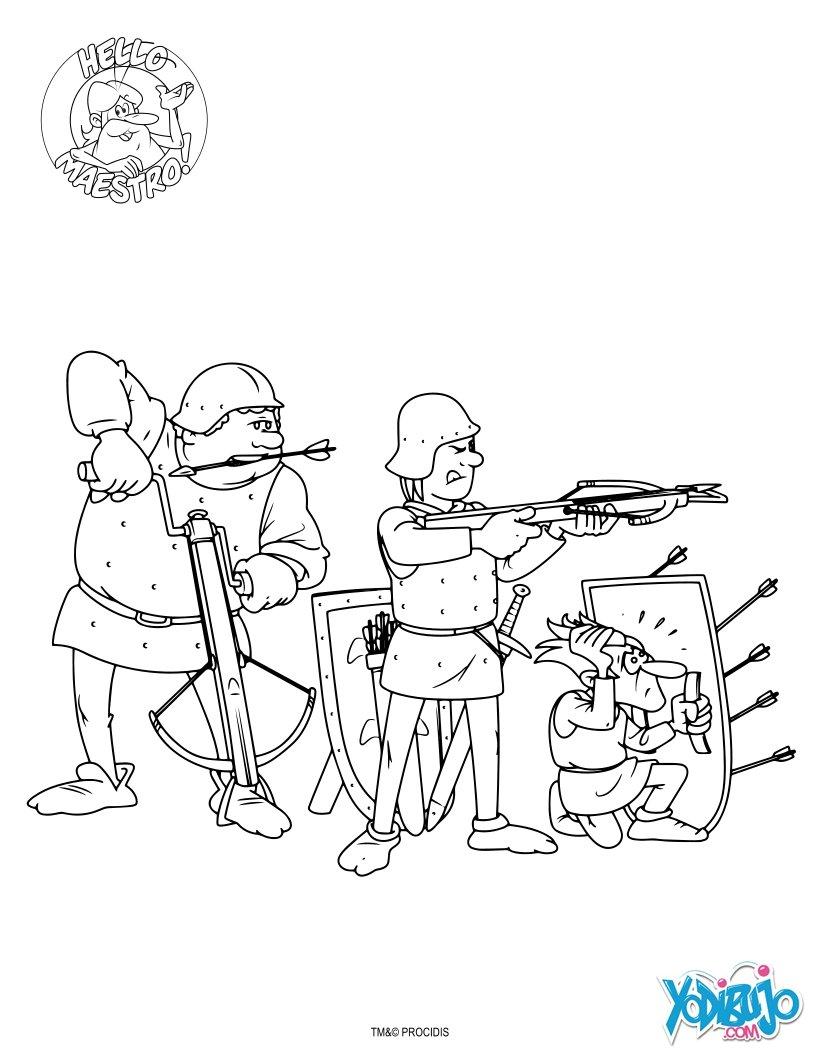 Dibujos de Érase una vez: El Hombre para colorear - Dibujos para ...