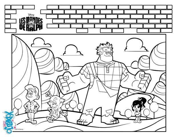 Dibujos para colorear rompe ralph - es.hellokids.com