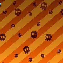 Fondo de pantalla : Calaveras de Halloween