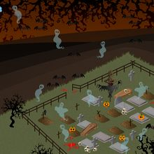 Fondo de pantalla : Cementerio hechizado