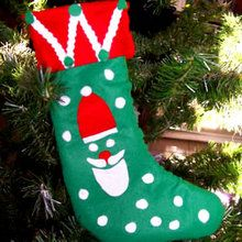Calcetín para regalos de Navidad