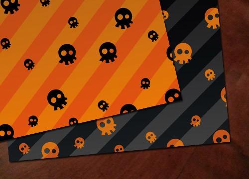 Manualidad infantil : Manteles de papel Halloween