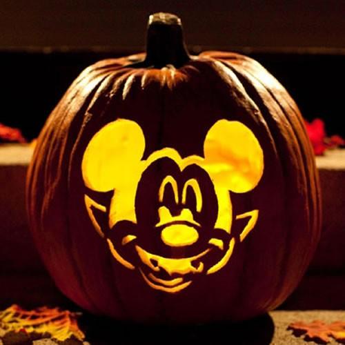 Sculpture Mickey Vampire