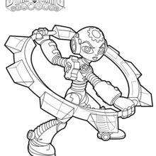 Dibujo para colorear : Gearshift