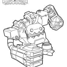 Dibujo para colorear : Jawbreaker