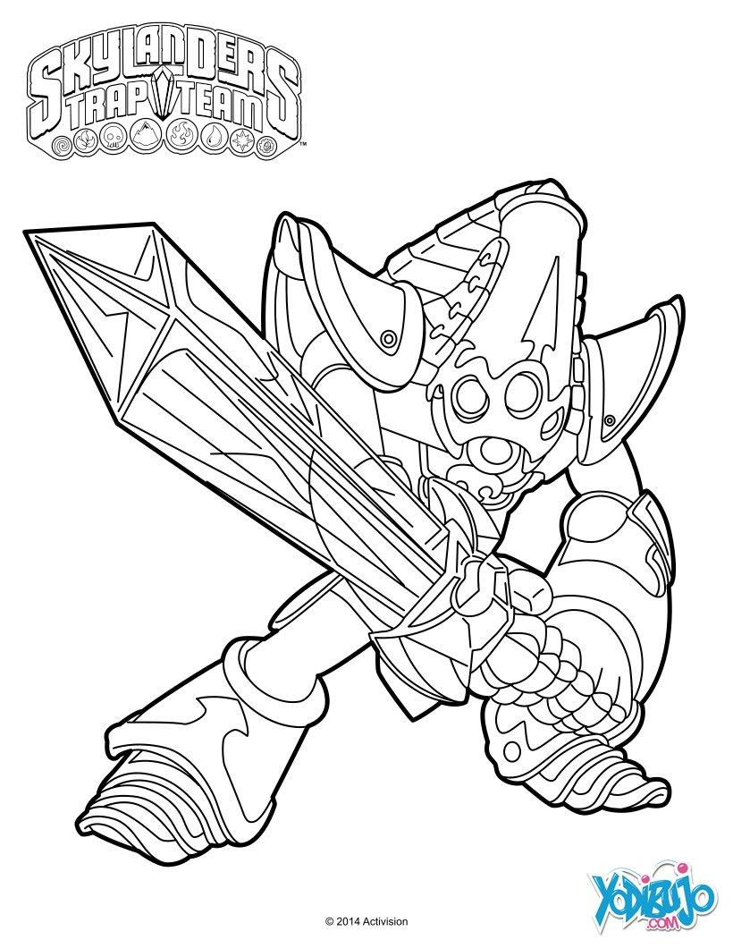 Dibujos Para Colorear Kript King