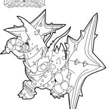 Dibujo para colorear : Lob-Star