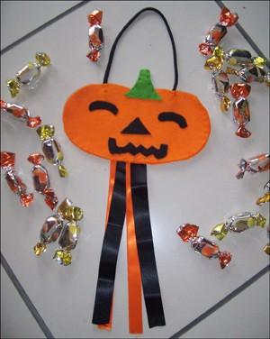 Manualidad infantil : La bolsa de caramelos