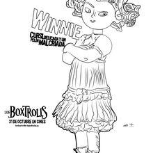 Dibujo para colorear : Winnie