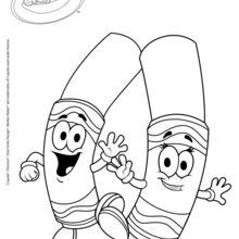 Dibujos Para Colorear Colorear Con Plumones Crayola Es