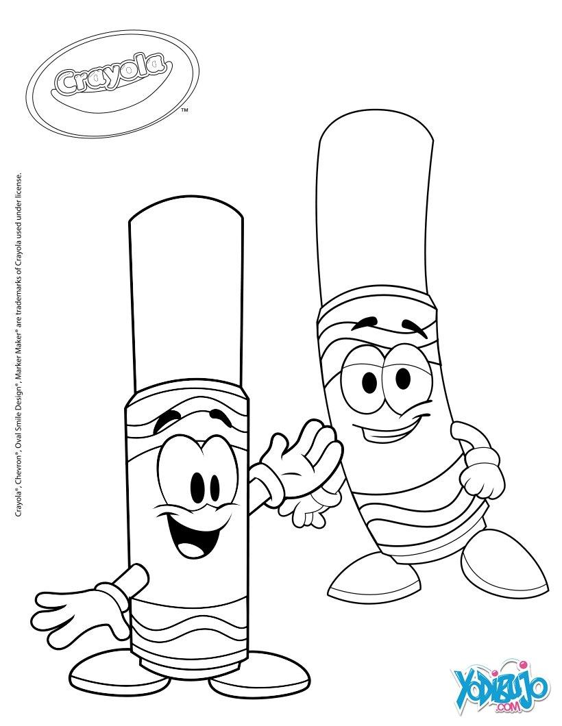 Dibujos para colorear colorear es divertido con crayola - es ...