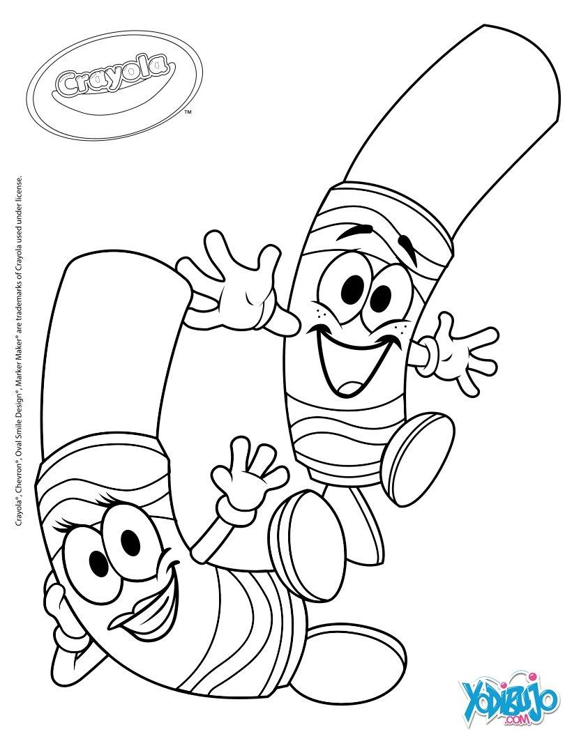 Lujo Crayola Para Colorear Gratis Imagen - Dibujos Para Colorear En ...
