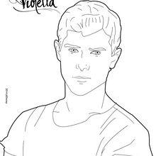 Dibujo para colorear : Diego