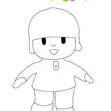 Dibujo para colorear : Pocoyo
