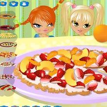 Juego para niños : Realiza una pizza de frutas