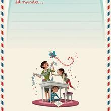 Manualidad infantil : Carta Ikea a los RRMM
