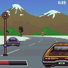 Juego para niños : Carrera de automoviles