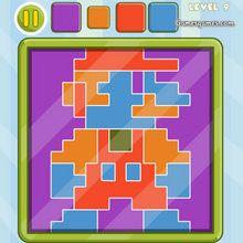 Juego para niños : Cuatro colores