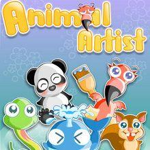 Juego en linea ANIMALES ARTISTAS