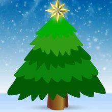 Juego para niños : Iluminar el arbol de navidad