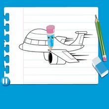 Consejo para dibujar : Dibujar un AVION