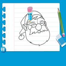 Dibujar PAPA NOEL