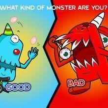 Juego para niños : Monstruos de cama