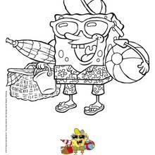 Dibujo para colorear : Bob Esponja: la película