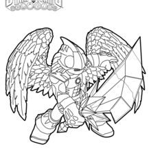 Dibujo para colorear : Knight Light