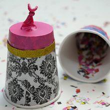 Manualidad infantil : El cañón de confetti