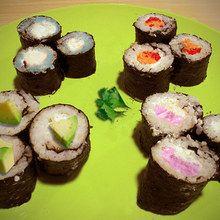 Cocinar con niños : Maki 4 elementos