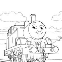 Dibujo para colorear : Thomas