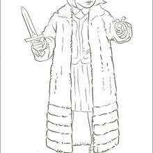 Dibujo para colorear : Lucy Pevensie