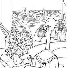 Dibujo para colorear : El Consejo de los Jedi