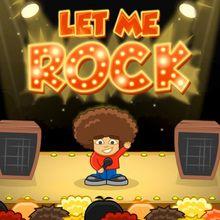 Juego para niños : La sala de conciertos - Let Me Rock