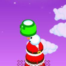 Juego para niños : Muñeco de nieve gigante