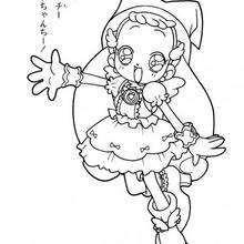 Dibujo para colorear : Hermosa Hana