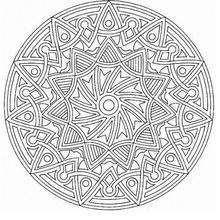 Mandala Guirnaldas y círculos