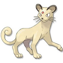 Dibujo para colorear : Pokemon Persian