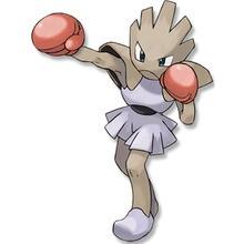 Dibujo para colorear : Pokemon Hitmonchan