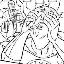 Alfred con Bruce Wayne
