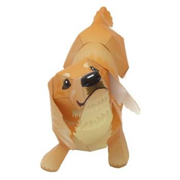 Doblado de papel : Perro salchicha 3D
