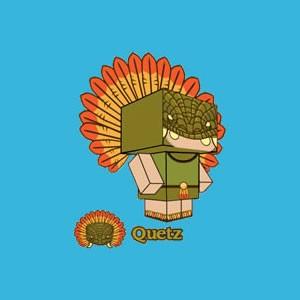 Quetz: Dios de papel