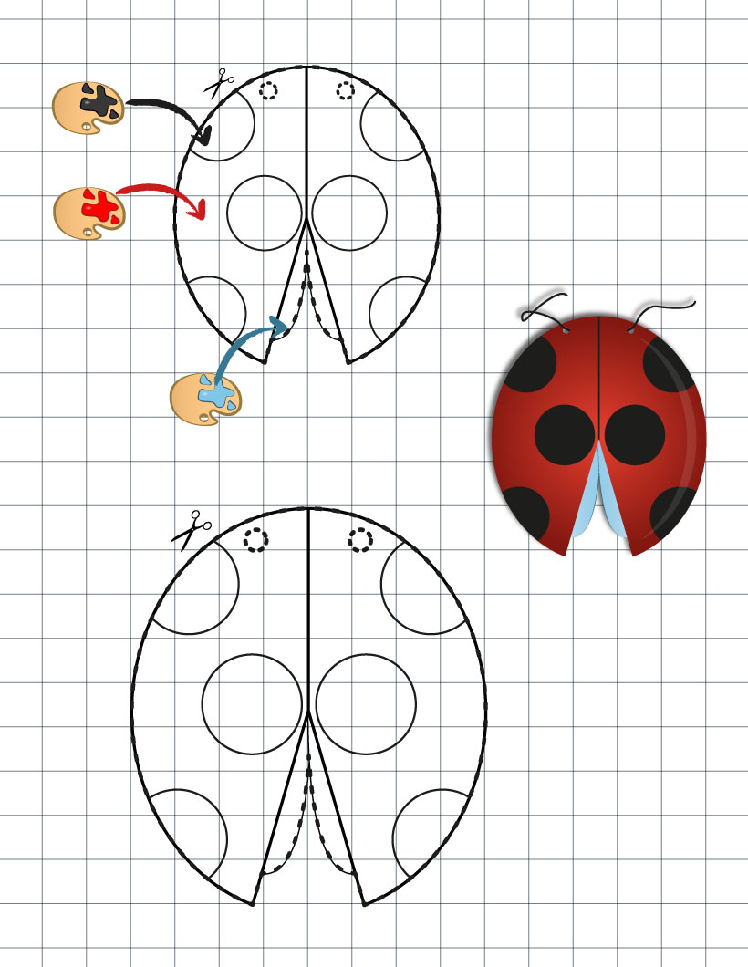 Kids Ladybug Craft Activities