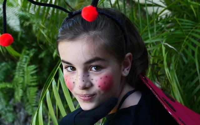 Manualidad infantil : Disfraz de mariquita