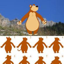 Juego de sombras del oso de Andorra