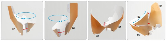 Doblado de papel : León de papel 3D